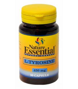 L-TYROXINA 450mg 50 Cápsulas de Nature Essential (L-Tirosina)