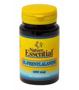 DL-FENILALANINA 400mg 50 Cápsulas de Nature Essential