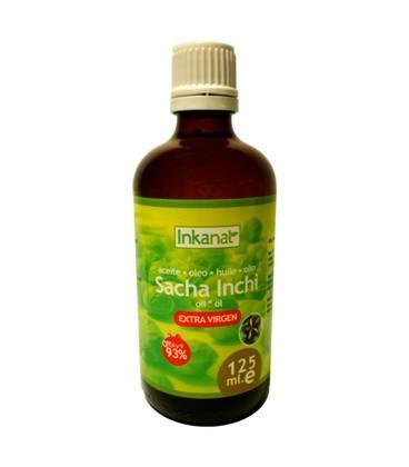 ACEITE DE SACHA INCHI 125ml de Inkanatura (Calidad VIRGEN EXTRA)