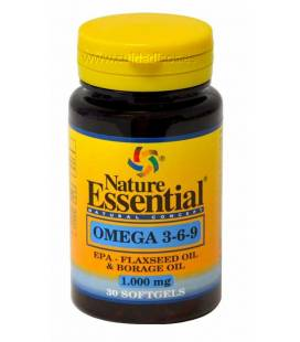 OMEGA  3 6 9 1000mg 30 Perlas de Nature Essential