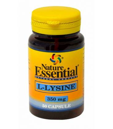 L-Lisina 50 cápsulas de 350mg de Nature Essential