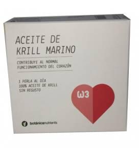 ACEITE DE KRILL MARINO 500mg 30 perlas de Botánica Nutrients