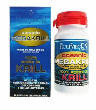 MEGAKRILL 100% ACEITE DE KRILL 60 PERLAS 500mg de Fleurymer