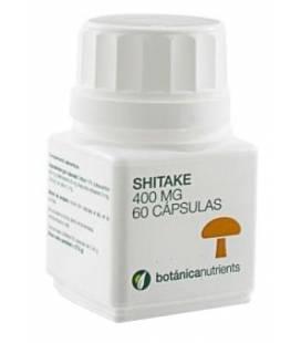Shitake 60 Cápsulas de 460mg de Botánica Nutrients