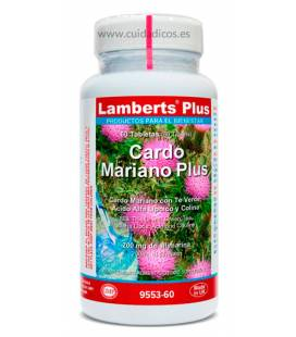 Cardo Mariano Plus 60 tabletas de Lamberts Plus
