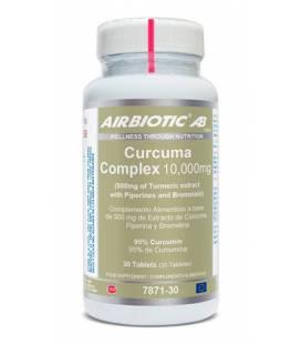 Cúrcuma complex 30 Tabletas 10.000mg de Airbiotic