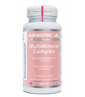 Multimineral complex 30 tabletas de Airbiotic