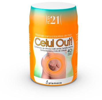 Plan 21 - Celut Out de Plameca para combatir la celulitis