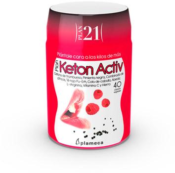 Plan 21 - Plan Keton Activ de Plameca para perder peso
