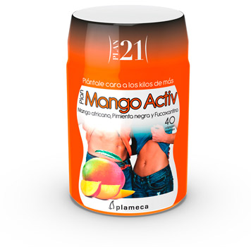 Plan 21 - Plan Mango Activ de Plameca para perder peso