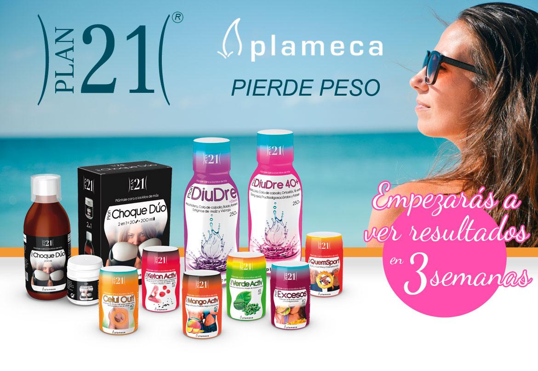 Plan 21 Plameca para perder peso