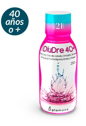 Plan 21 - DiuDre 40+ para drenar, depurar y eliminar líquidos a partir de los 40