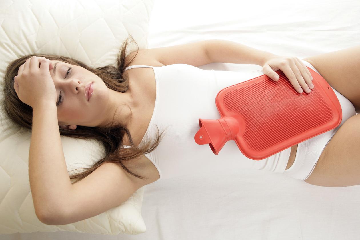 Durante la menstruación pueden darse dolores abdomimnales, etc.