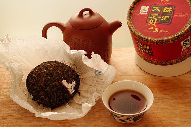 El té rojo pu-erh es muy famoso por sus propiedades para perder peso y depurar el organismo