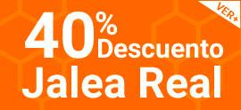 40% de descuento en Jalea Real Robis