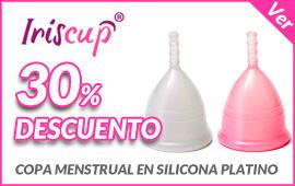 30% de descuento en copas menstruales